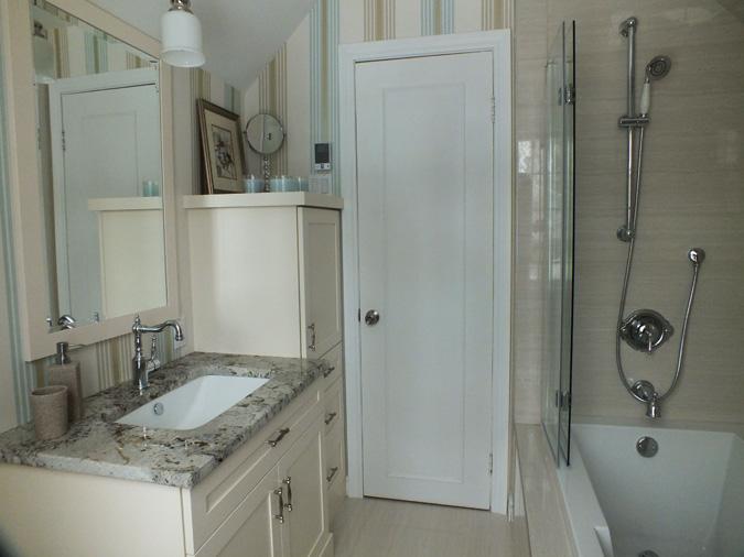 R alisations de construction america for Construction salle de bain